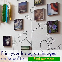 print Your Instagram Images on Kapafix