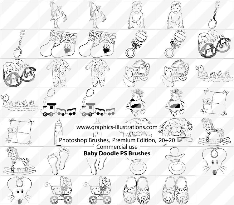 baby-doodle-ps-brushes-premium ...