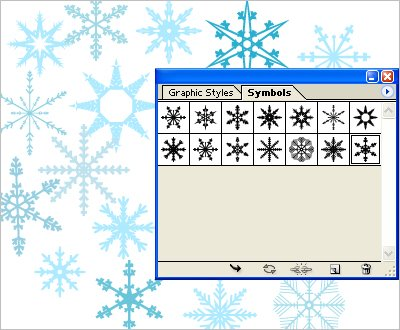 For today I prepared a set of pretty simple snowflakes symbols for download.