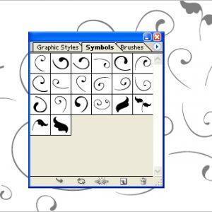 Free download Swirls symbols, Adobe Illustrator