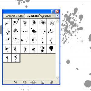 Free Download Adobe Illustrator Ink Splatter Symbols