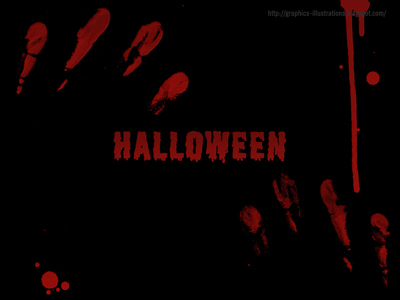 Halloween Wallpaper on Halloween Wallpaper Or Halloween Background   Digital Art  Photoshop