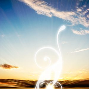 Usage of the PS Swirls Brushes in a Sunset Photo – Tutorial