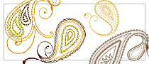 Paisley Designs Photoshop Brushes