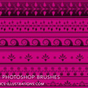 Photoshop Brushes – Borders