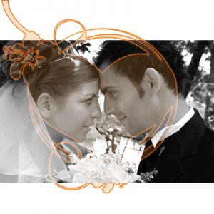 Photoshop Brushes in Action: Bride and Groom
