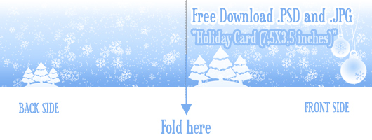 Christmas Card Template