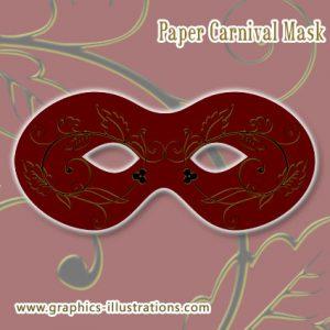 Paper Mask for Carnival