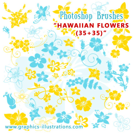 Pictures Of Hawaiian Flowers. Hawaiian Flowers Photoshop