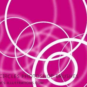 Circles, circles… Photoshop Brushes set!
