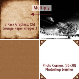 How to get an old photo effect, fast and easy way