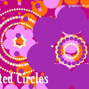 New Free Photoshop Brushes Set: Dotted Circles