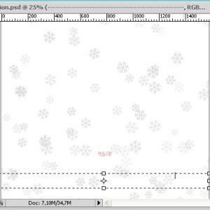 Creating Christmas Party Invitation /w Christmas Photoshop brushes (Part One)