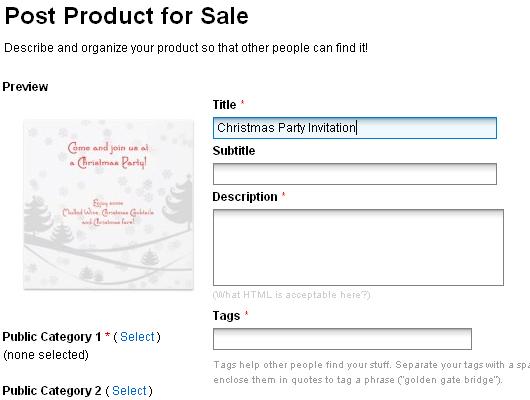 Creating Christmas Party Invitation /w Christmas Photoshop brushes (11)