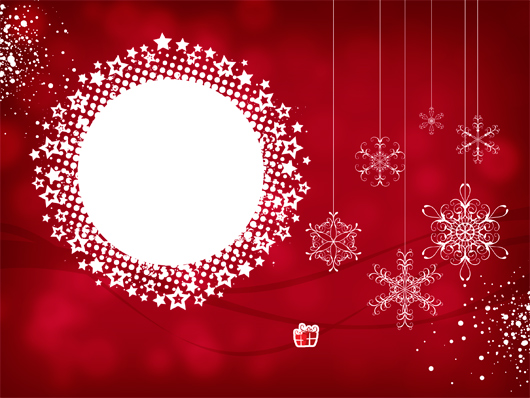Free Christmas Card Template from my blog