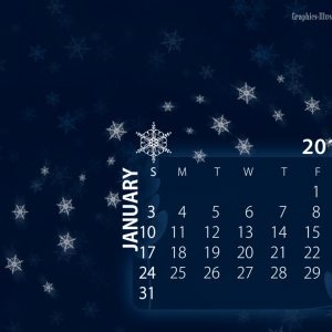 Free download: January 2010 Desktop Calendar Wallpaper