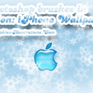 Photoshop Brushes in Action: iPhone Wallpaper