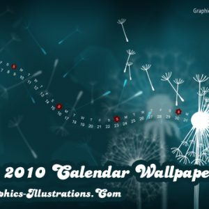 May 2010 Desktop Wallpaper Calendar