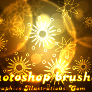 Photoshop brushes and Rubber Stamps