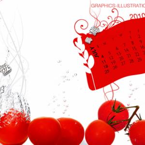 Desktop Wallpaper Calendar – July 2010