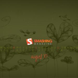 August 2010. Desktop Wallpaper Calendar