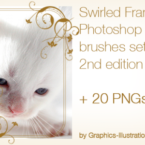 Decorate Your Photos with Elegant Swirled Frames