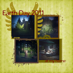 Earth Day 2011. – Free Quick Page and A New Photography Technique