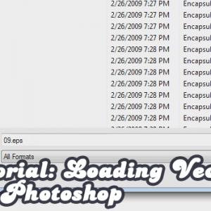Tutorial: Loading Vectors into Photoshop