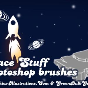 Space Stuff, Photoshop brushes