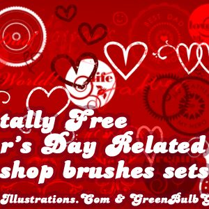 10 Free Father's Day Photoshop Brushes Sets; [Set 2/10]