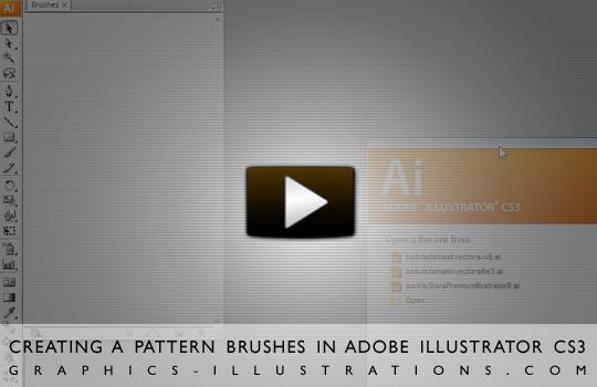 Creating A Pattern Brush In Adobe Illustrator