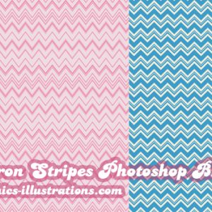 Chevron Stripes Photoshop Brushes Set, Free [Time limited offer]