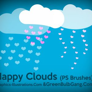 The Happy Clouds, Free Photoshop Bruhses set