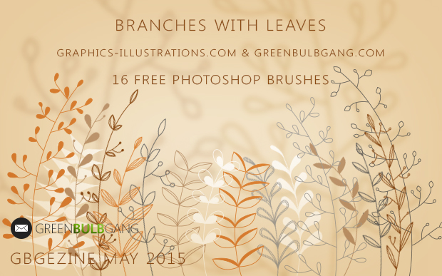 BRANCHES WITH LEAVES, FREE DOWNLOAD