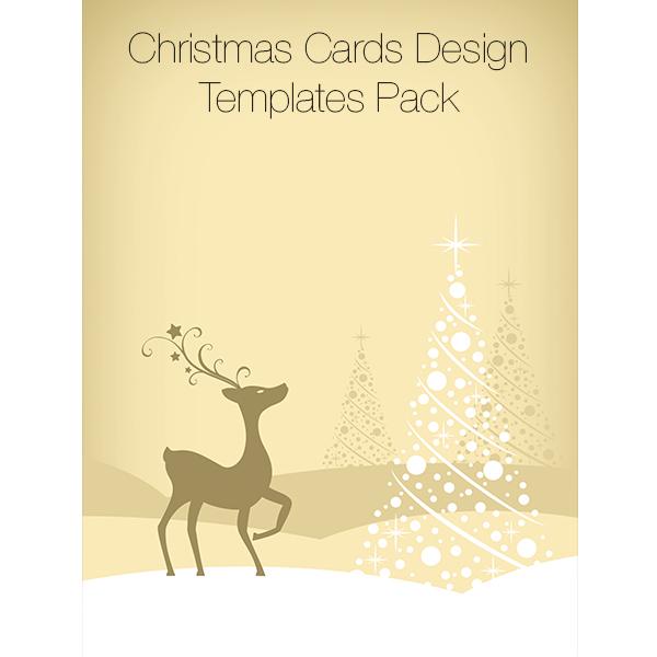 christmas cards design templates pack 8 00 christmas cards design ...