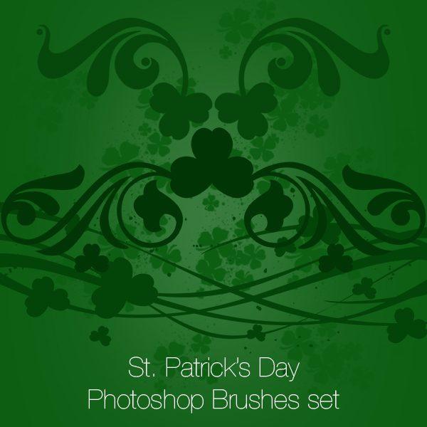 St. Patrick's Day Photoshop brushes