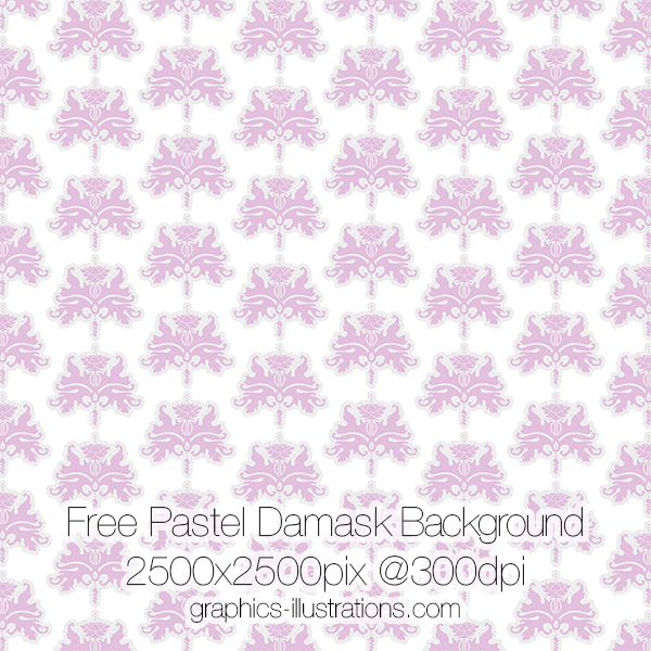 Damask Background Free Download