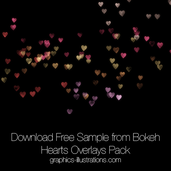 Free Sample Bokeh Hearts Overlays (155)