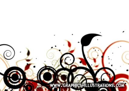 swirls circles graphic