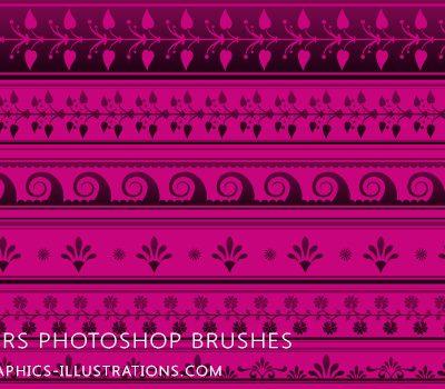 Borders - Photoshop Brushes set