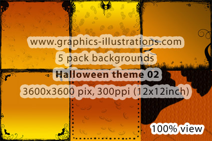 5 Halloween backgrounds