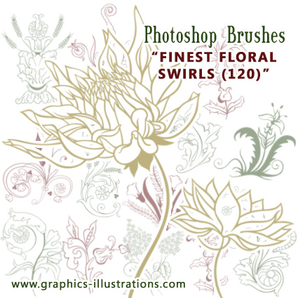 Finally! Finest Floral Swirls Brushes Ive Ever Seen