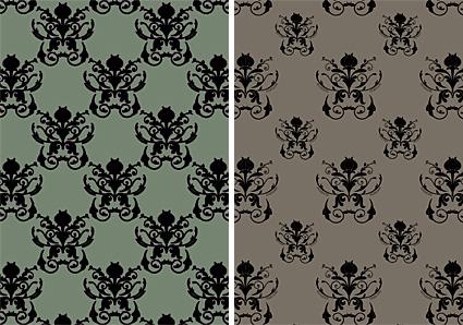 Damask Patterns by Gordeee