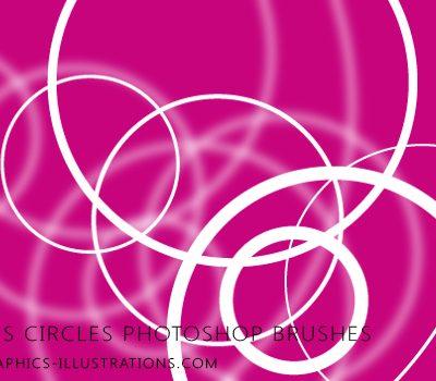Circles circles Photoshop brushes set (15+15)
