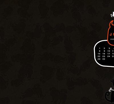 Free Desktop Wallpaper Calendar - June '09