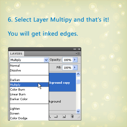 Photoshop Tutorial: How to Create Inked Edges