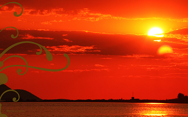 bsilvia postcard sunset front