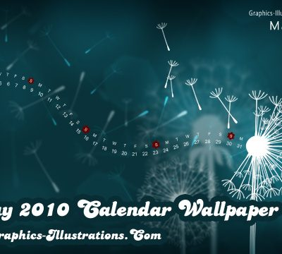 May 2010 Desktop Wallpaper Calendar