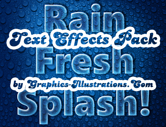 Photoshop Text Effects Pack - Graphics-Illustrations