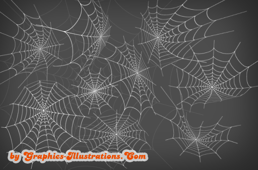 Spider Webs Photoshop brushes - free download for Platinum GBG members